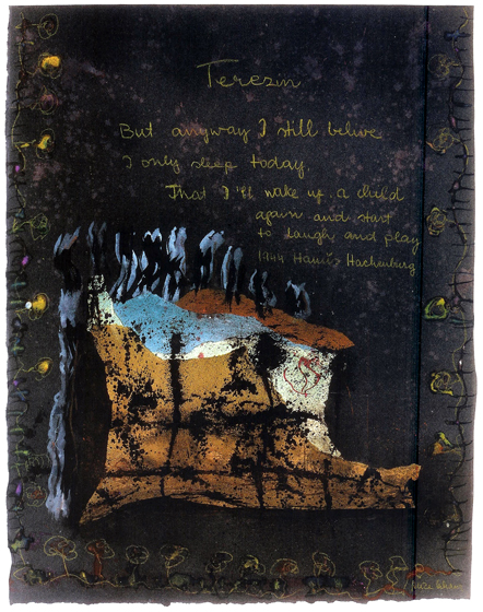 "32x26""  mixed media on paper, 1978"