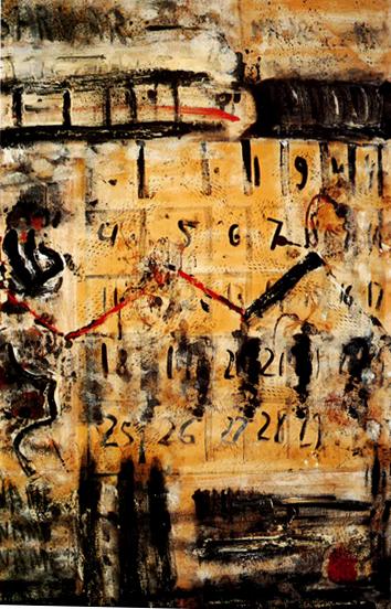 """67.5x42.5"""" acrylic on canvas, 1979"""